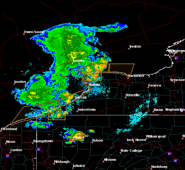 Radar Image for Severe Thunderstorms near Edinboro, PA at 7/20/2019 10:50 PM EDT