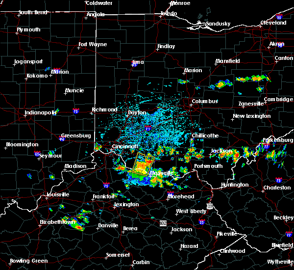 Radar Image for Severe Thunderstorms near Augusta, OH at 7/21/2019 12:49 PM EDT