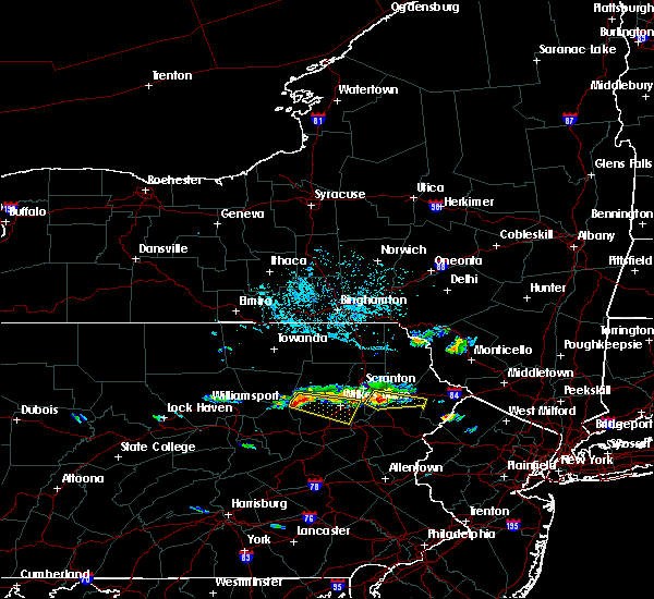 Radar Image for Severe Thunderstorms near Plains, PA at 7/21/2019 4:52 PM EDT