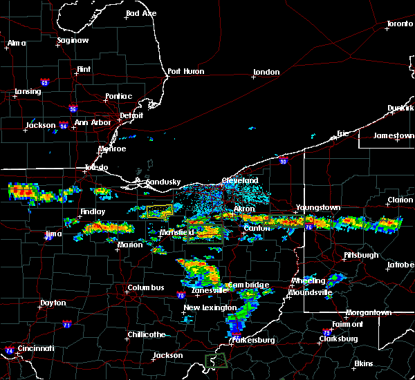 Radar Image for Severe Thunderstorms near New Haven, OH at 7/21/2019 5:09 PM EDT