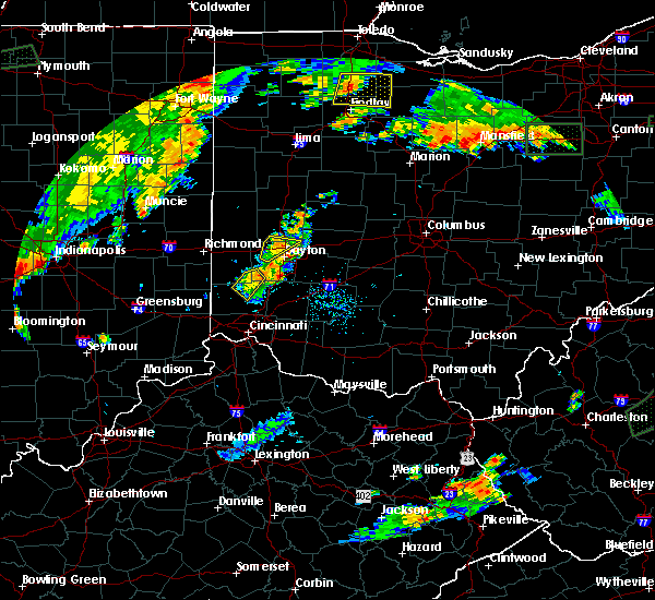 Radar Image for Severe Thunderstorms near Germantown, OH at 7/21/2019 6:45 PM EDT