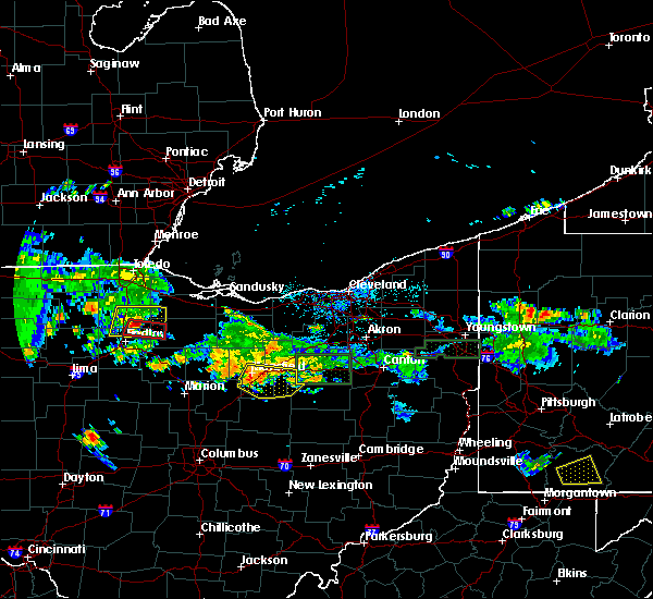 Radar Image for Severe Thunderstorms near Lucas, OH at 7/21/2019 7:07 PM EDT