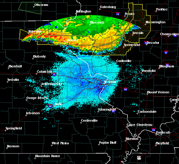 Radar Image for Severe Thunderstorms near Quincy, IL at 6/20/2015 9:53 PM CDT