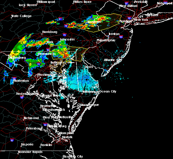 Radar Image for Severe Thunderstorms near Aberdeen, MD at 7/21/2019 9:45 PM EDT