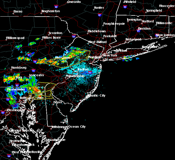 Radar Image for Severe Thunderstorms near Fullerton, PA at 7/21/2019 9:52 PM EDT
