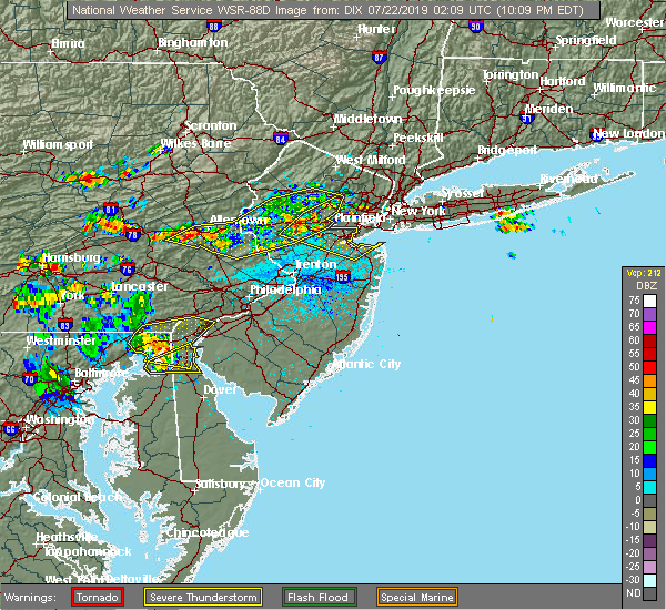 Interactive Hail Maps Hail Map For Martinsville Nj
