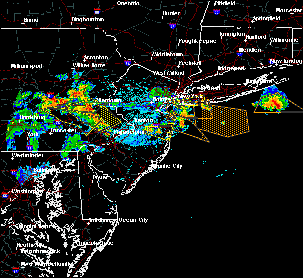 Radar Image for Severe Thunderstorms near Silver Ridge, NJ at 7/21/2019 11:30 PM EDT