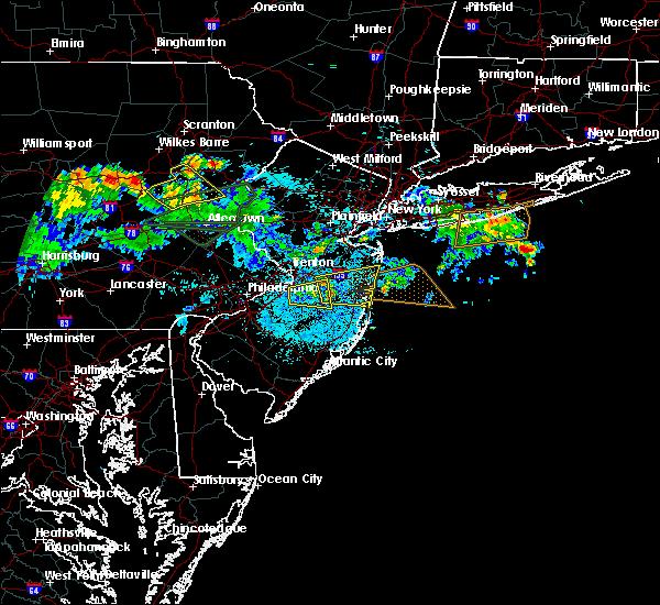 Radar Image for Severe Thunderstorms near Silver Ridge, NJ at 7/22/2019 12:37 AM EDT