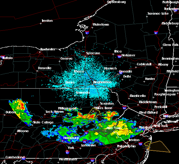 Radar Image for Severe Thunderstorms near Sugar Notch, PA at 7/22/2019 1:09 AM EDT