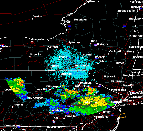 Radar Image for Severe Thunderstorms near East Side, PA at 7/22/2019 1:28 AM EDT