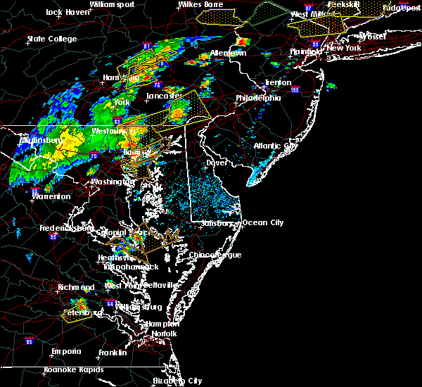 Radar Image for Severe Thunderstorms near Essex, MD at 7/22/2019 4:16 PM EDT