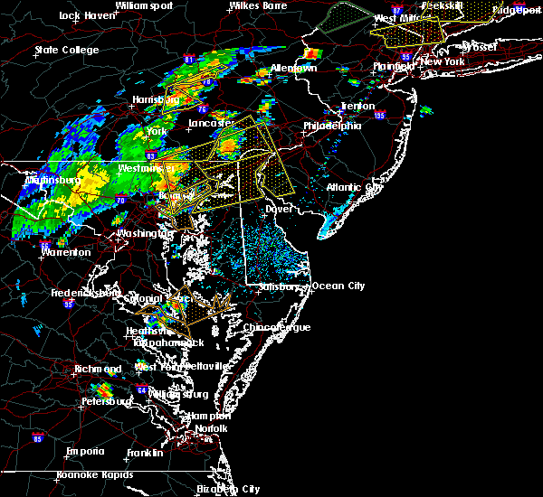 Radar Image for Severe Thunderstorms near Georgetown, MD at 7/22/2019 4:19 PM EDT