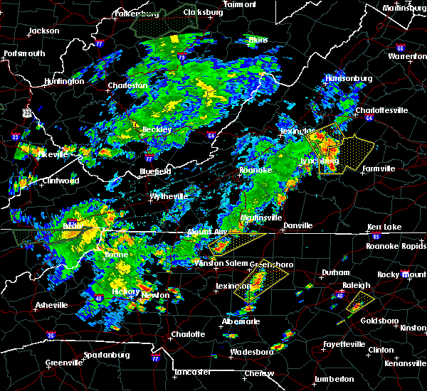 Radar Image for Severe Thunderstorms near Madison, NC at 7/22/2019 5:49 PM EDT