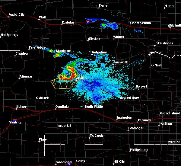 Radar Image for Severe Thunderstorms near Mullen, NE at 6/20/2015 9:48 PM MDT