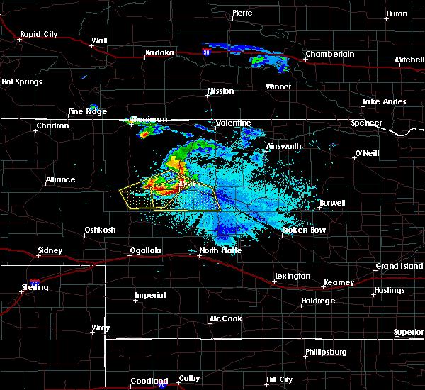 Radar Image for Severe Thunderstorms near Mullen, NE at 6/20/2015 9:57 PM MDT