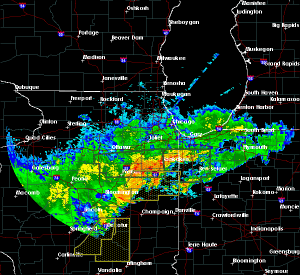 Radar Image for Severe Thunderstorms near Sheldon, IL at 6/20/2015 11:04 PM CDT