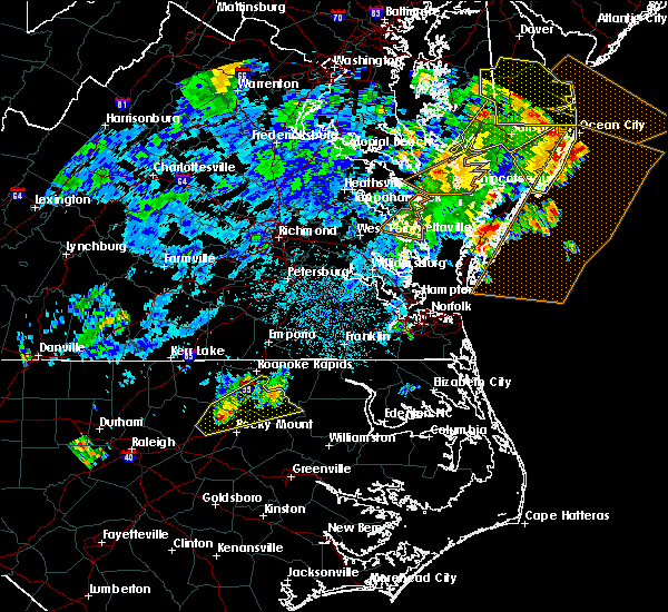 Radar Image for Severe Thunderstorms near Halifax, NC at 7/23/2019 12:26 AM EDT