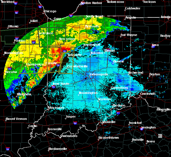 Radar Image for Severe Thunderstorms near Crawfordsville, IN at 6/21/2015 1:07 AM EDT