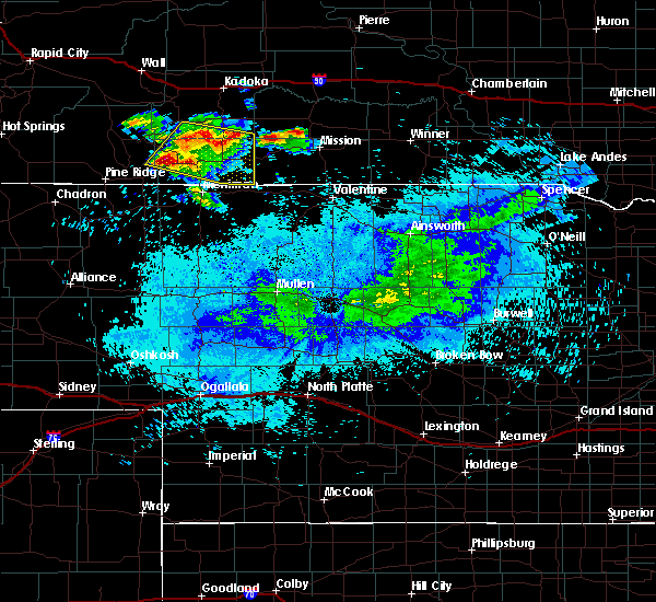 Radar Image for Severe Thunderstorms near St. Francis, SD at 7/26/2019 7:50 AM CDT