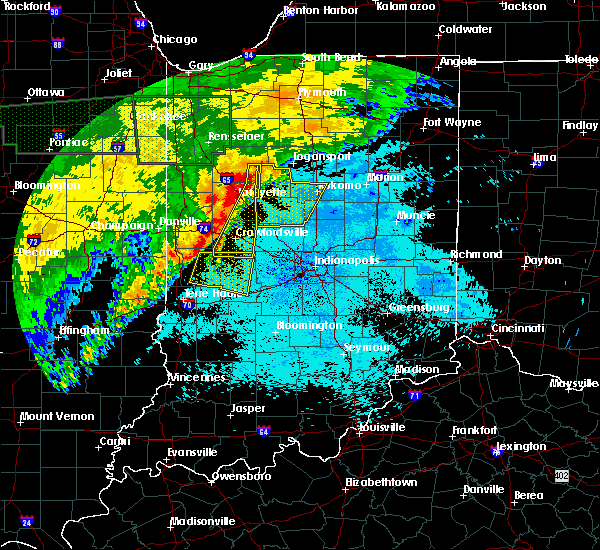 Radar Image for Severe Thunderstorms near Crawfordsville, IN at 6/21/2015 1:39 AM EDT