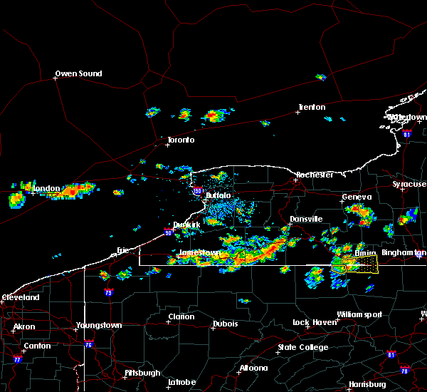 Radar Image for Severe Thunderstorms near Scio, NY at 7/28/2019 4:14 PM EDT