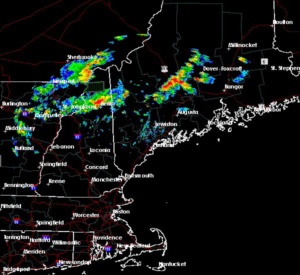 Radar Image for Severe Thunderstorms near Hartland, ME at 7/28/2019 5:01 PM EDT