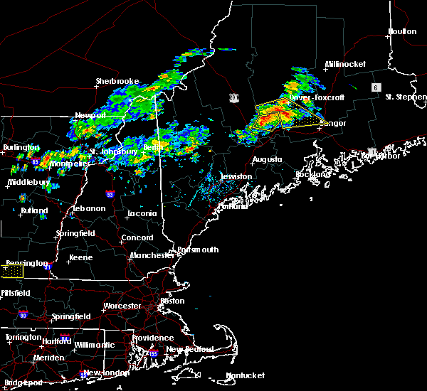 Radar Image for Severe Thunderstorms near Hartland, ME at 7/28/2019 5:31 PM EDT