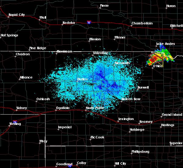 Radar Image for Severe Thunderstorms near Inman, NE at 7/28/2019 9:42 PM CDT