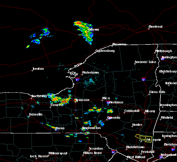 Radar Image for Severe Thunderstorms near Weedsport, NY at 7/29/2019 4:58 PM EDT