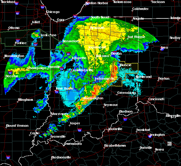 Radar Image for Severe Thunderstorms near New Castle, IN at 6/21/2015 2:54 AM EDT