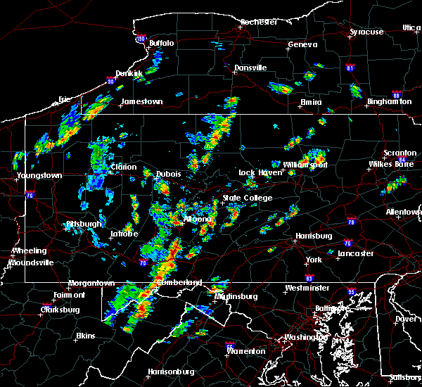 Radar Image for Severe Thunderstorms near Hyde, PA at 7/30/2019 1:56 PM EDT
