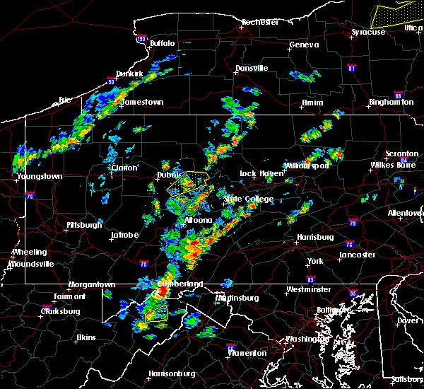 Radar Image for Severe Thunderstorms near Bigler, PA at 7/30/2019 2:20 PM EDT