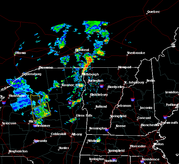 Radar Image for Severe Thunderstorms near South Burlington, VT at 7/30/2019 3:31 PM EDT