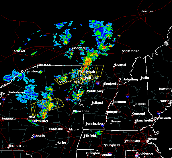 Radar Image for Severe Thunderstorms near Au Sable Forks, NY at 7/30/2019 3:54 PM EDT