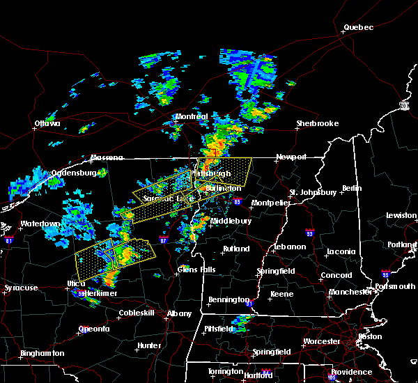 Radar Image for Severe Thunderstorms near South Burlington, VT at 7/30/2019 4:00 PM EDT