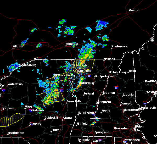 Radar Image for Severe Thunderstorms near South Burlington, VT at 7/30/2019 4:28 PM EDT