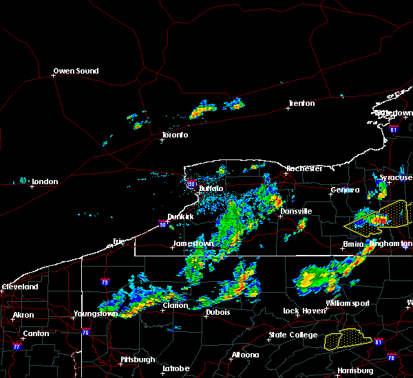 Radar Image for Severe Thunderstorms near Lima, NY at 7/30/2019 4:32 PM EDT