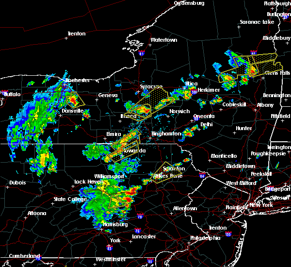 Radar Image for Severe Thunderstorms near Sugar Notch, PA at 7/30/2019 5:02 PM EDT