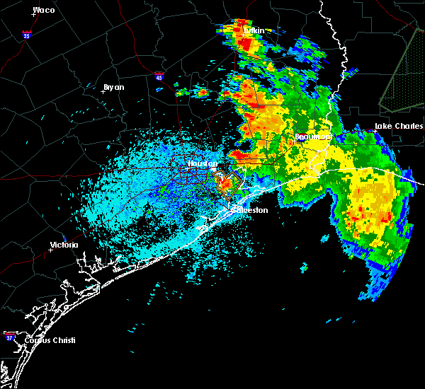 Radar Image for Severe Thunderstorms near Channelview, TX at 7/30/2019 4:16 PM CDT