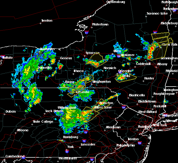 Radar Image for Severe Thunderstorms near Sugar Notch, PA at 7/30/2019 5:31 PM EDT