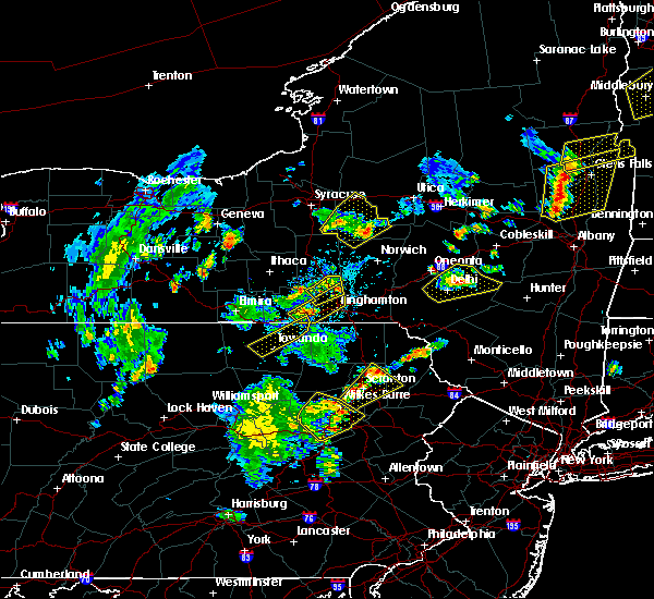 Radar Image for Severe Thunderstorms near Sugar Notch, PA at 7/30/2019 5:42 PM EDT