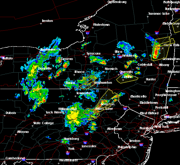 Radar Image for Severe Thunderstorms near Dunmore, PA at 7/30/2019 5:49 PM EDT