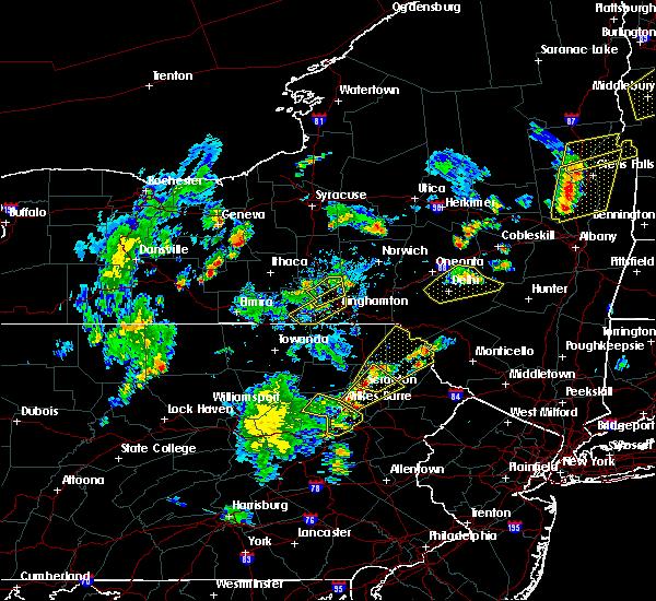 Radar Image for Severe Thunderstorms near Auburn, NY at 7/30/2019 5:52 PM EDT