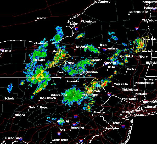 Radar Image for Severe Thunderstorms near Auburn, NY at 7/30/2019 6:19 PM EDT