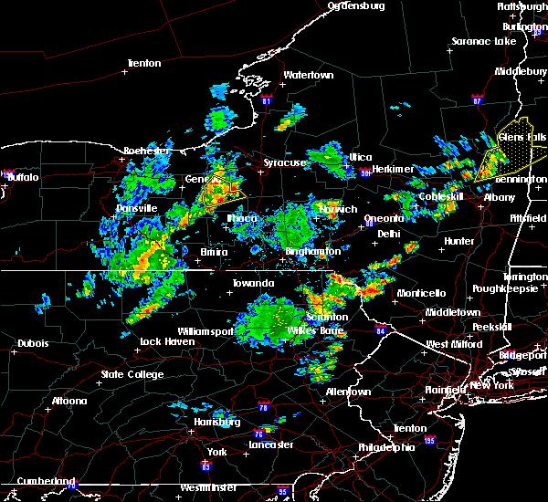 Radar Image for Severe Thunderstorms near Auburn, NY at 7/30/2019 6:35 PM EDT