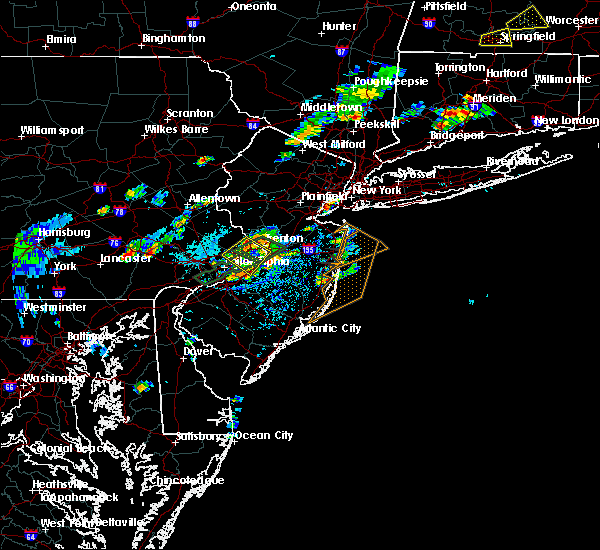 Radar Image for Severe Thunderstorms near Englishtown, NJ at 7/31/2019 2:14 PM EDT