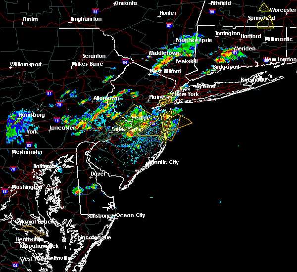 Radar Image for Severe Thunderstorms near Englishtown, NJ at 7/31/2019 2:45 PM EDT