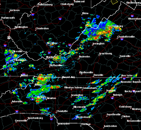 Radar Image for Severe Thunderstorms near Sparta, NC at 7/31/2019 3:19 PM EDT