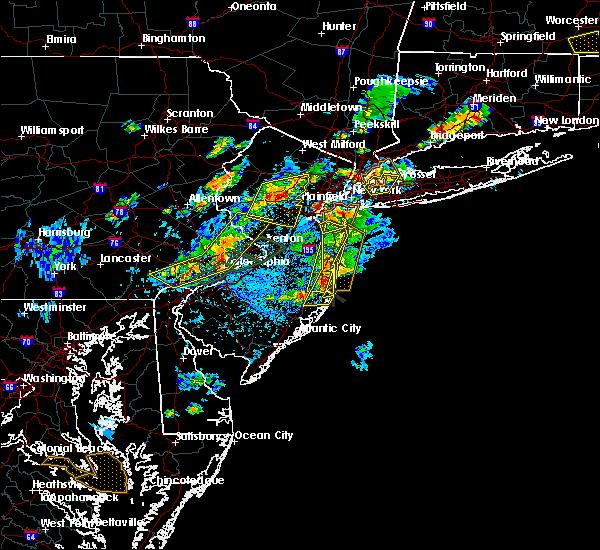 Radar Image for Severe Thunderstorms near Silver Ridge, NJ at 7/31/2019 3:43 PM EDT