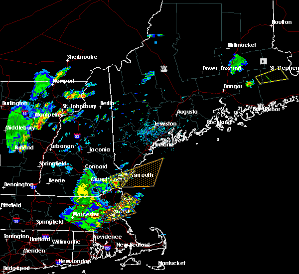 Radar Image for Severe Thunderstorms near South Eliot, ME at 7/31/2019 4:05 PM EDT